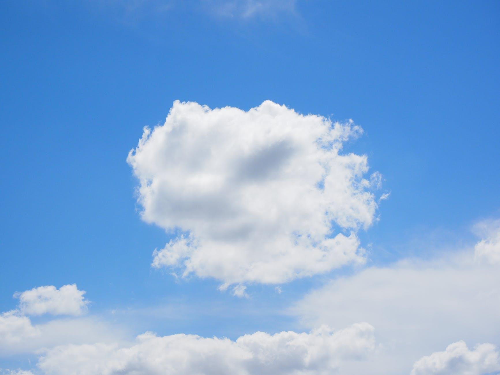 atmosphere blue blue sky bright